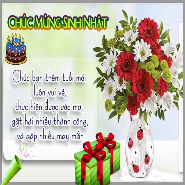 Bộ Sưu Tập Những tấm thiệp hoa sinh nhật Đẹp - Độc Đáo - Ấn Tượng nhất 2018 5