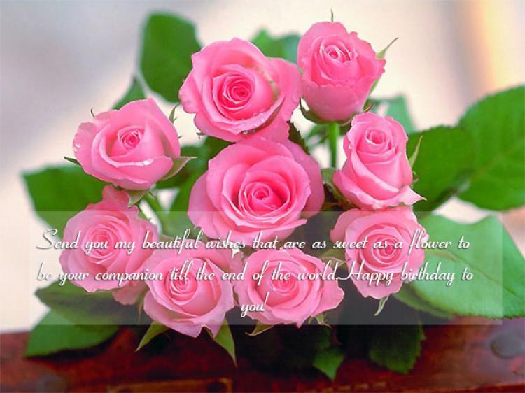 Bộ Sưu Tập Những tấm thiệp hoa sinh nhật Đẹp - Độc Đáo - Ấn Tượng nhất 2018 12