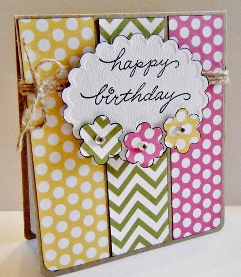 Tự tay làm thiệp sinh nhật Handmade Đẹp và Dễ thương tặng người thân