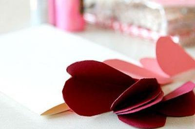 Thiệp sinh nhật dễ làm hoa nổi 2