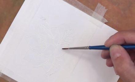 Mẫu thiệp sinh nhật vẽ tay Đẹp và Độc Đáo bằng hộp màu nước