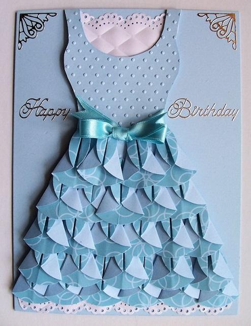 Những mẫu thiệp sinh nhật dễ thương dành cho các cô gái dịu dàng