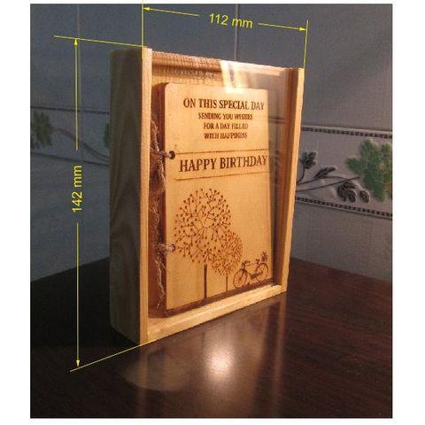 Các mẫu thiệp sinh nhật gỗ đẹp độc đáo và ý nghĩa nhất