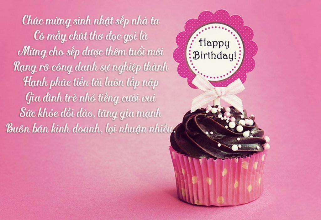 Các mẫu thiệp sinh nhật Sếp đẹp kèm lời chúc hay và ý nghĩa nhất