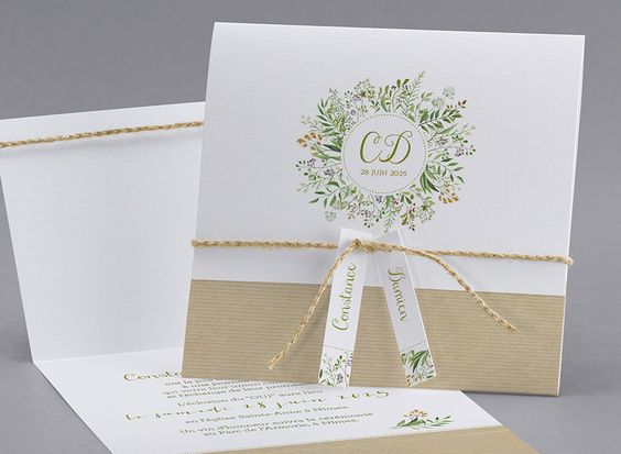 Cách làm những tấm thiệp cưới handmade đơn giản