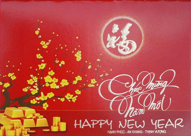 Thiệp chúc mừng năm mới dành cho người yêu nên viết như thế nào ?