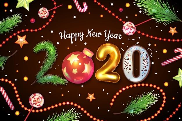 Những mẫu thiệp chúc mừng năm mới 2020 kèm những lời chúc ý nghĩa
