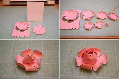 Cách làm thiệp hoa nổi 3D chi tiết nhất