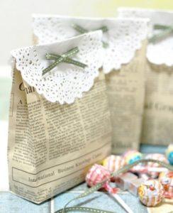 Một số mẫu gói quà bằng giấy báo Vô cùng Độc Đáo