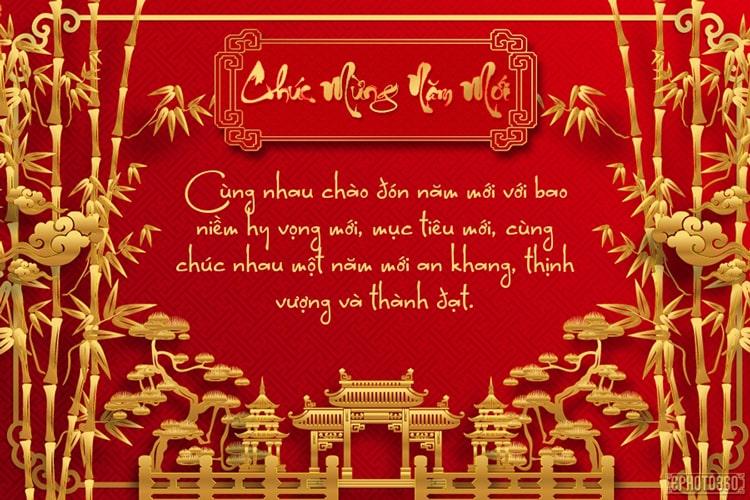 Tổng hợp các mẫu thiệp chúc mừng năm mới công ty ấn tượng nhất