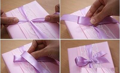 Cách gói quà hình chữ nhật đẹp chỉ bằng vài bước đơn giản