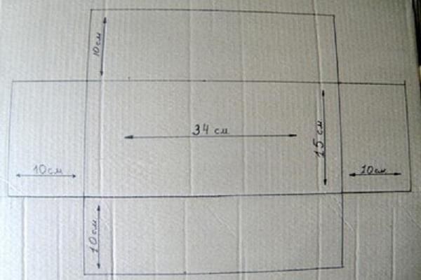 Vẽ phác thảo mẫu hộp quà