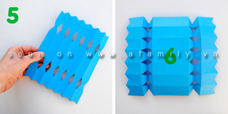 Hướng dẫn cách gói quà hình kẹo đơn giản đẹp và dễ thương