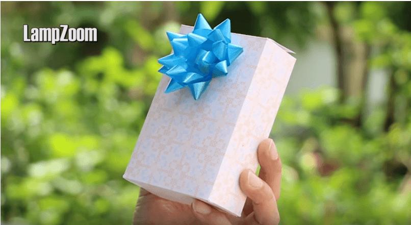 Hướng dẫn cách làm hộp quà bằng giấy A4 cực dễ - siêu xinh