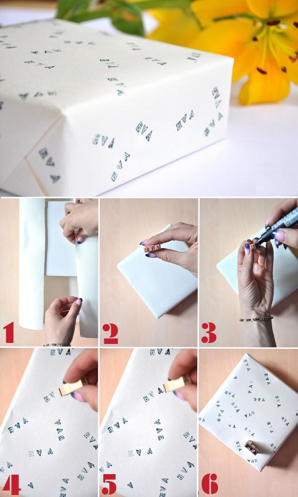 Tự làm giấy gói quà SIÊU xinh với 4 cách đơn giản