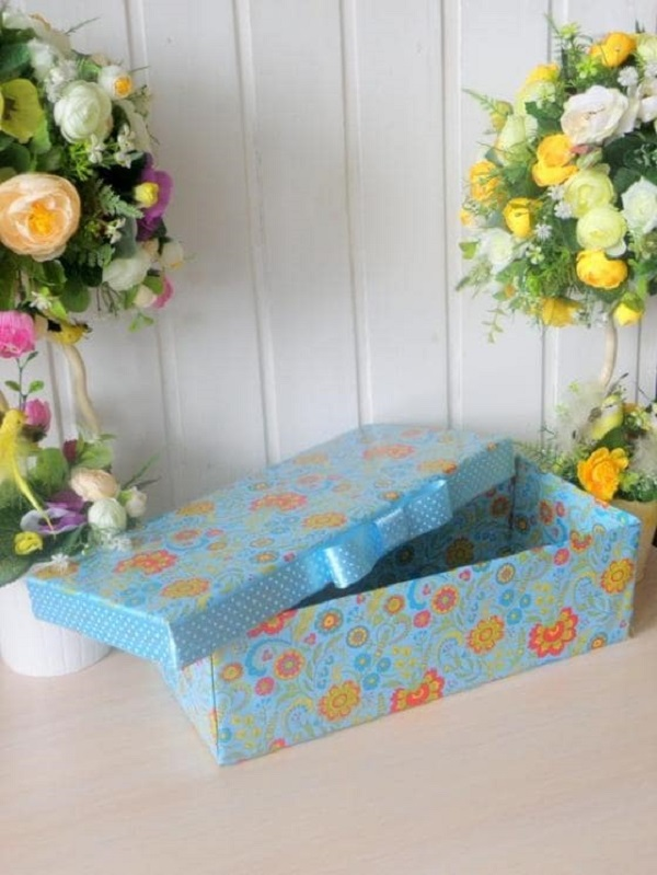 Cách làm hộp quà từ bìa Carton CỰC đẹp mà đơn giản