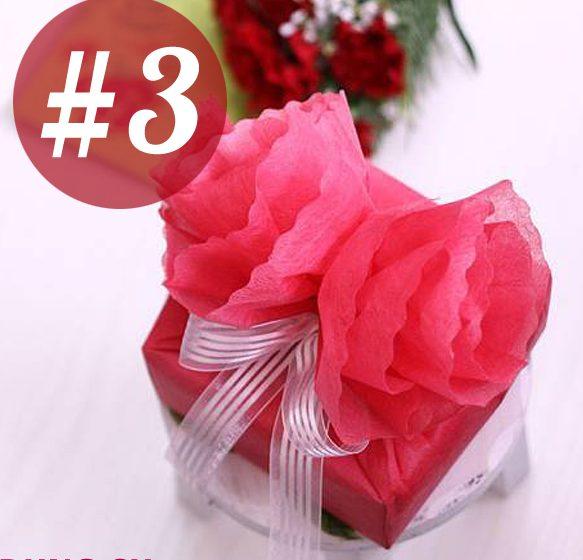 Cách gói quà đẹp cho bé bằng giấy lụa