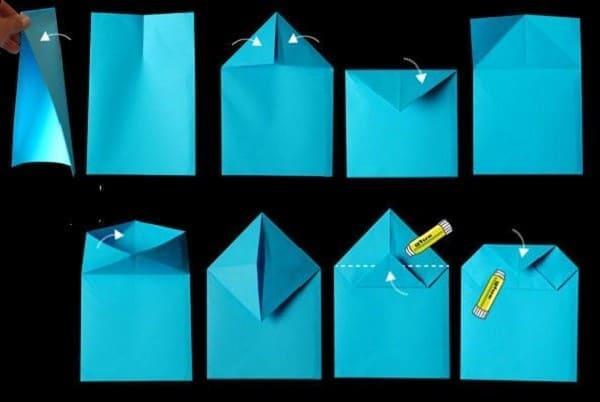 Hướng dẫn cách làm túi giấy đơn giản chỉ trong 3 phút