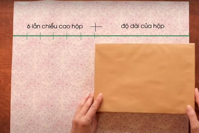 Cách gói quà hình chữ nhật phá cách SIÊU dễ thương