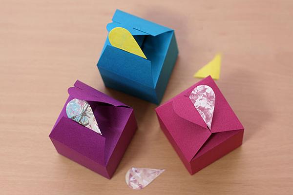 Cách làm hộp quà đẹp nắp khóa trái tim SIÊU cute