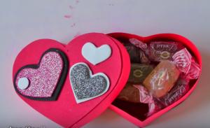 Cách làm hộp quà trái tim đơn giản mà tinh tế ai cũng làm được