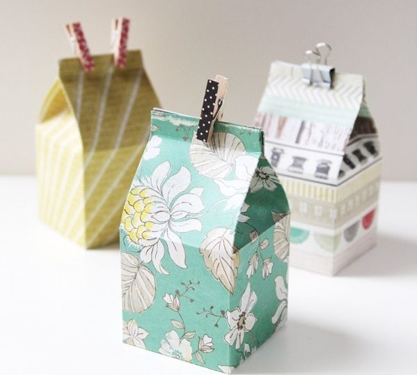 Hướng dẫn cách gấp hộp quà đựng kẹo SIÊU CUTE