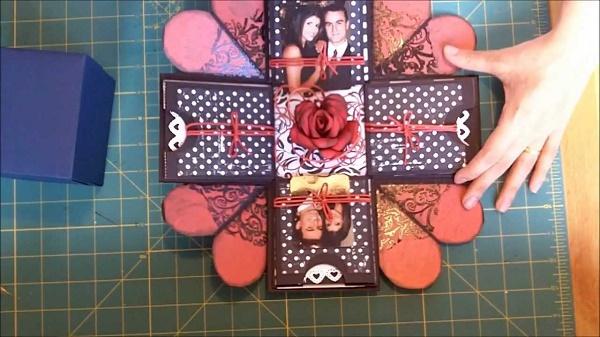 Hướng dẫn làm hộp quà tình yêu handmade SIÊU CUTE